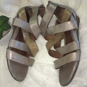 1193c339f0 Sofft Shoes | Rosaria Gladiator Wedge Sandals Sz 10w | Poshmark